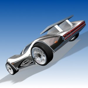 3ds max super sport car