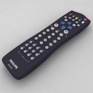 3d tv remote control philips