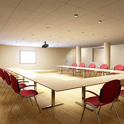 3d model multimedia room
