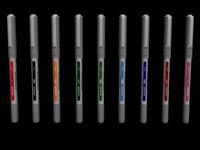 3ds max colour uni-ball pens