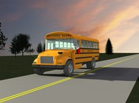 3ds max school bus