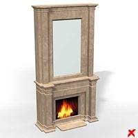 fireplace architecture brick max