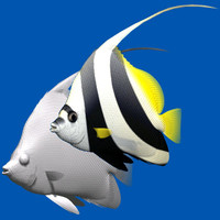 pennant coralfish 3d 3ds
