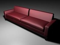 3d smania sofa julian model