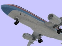 3ds max airbus 320 american airlines