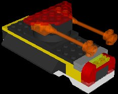 free lego warcraft hovers 3d model