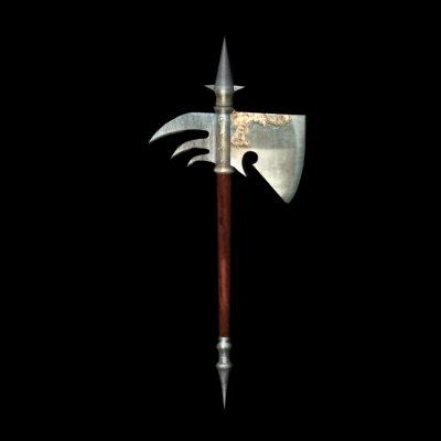war axe 3d model