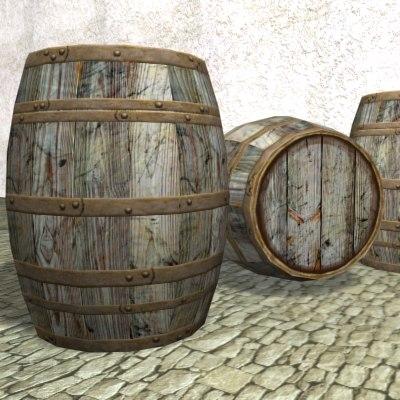 barrel games architectural 3d max