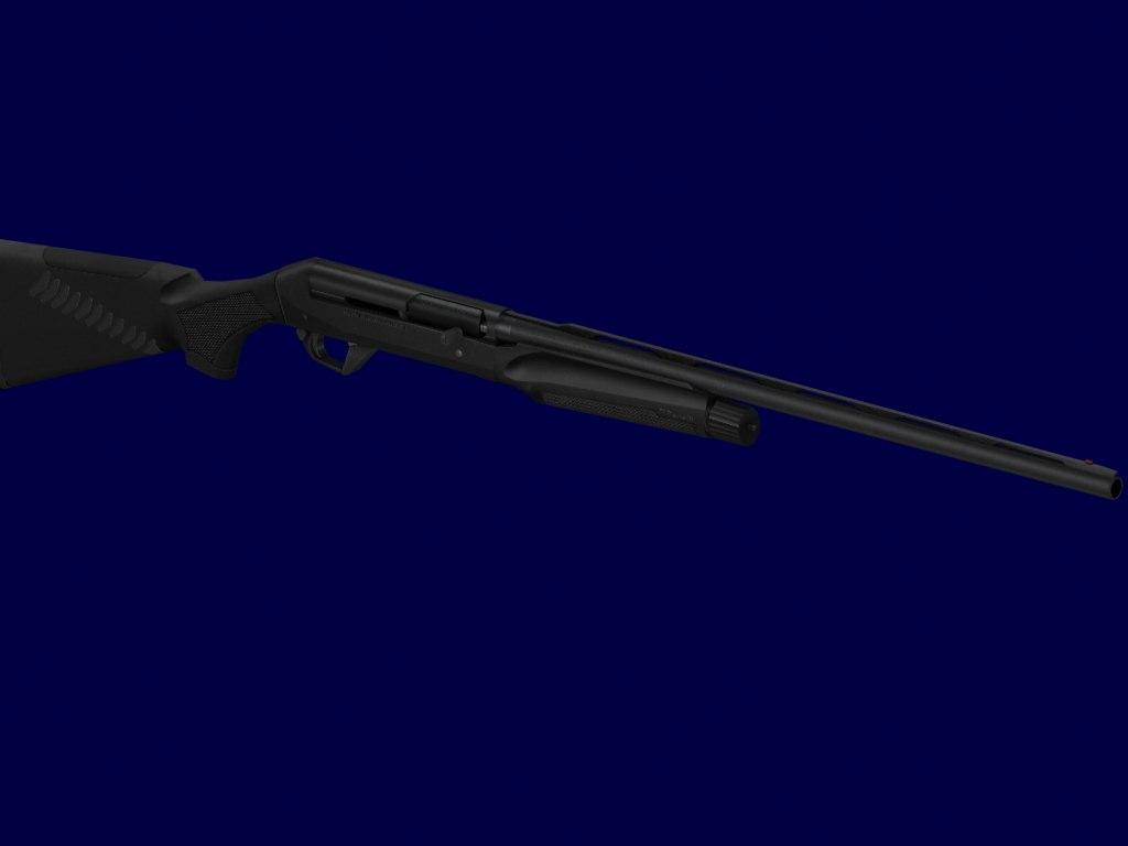 3ds max benelli shotgun