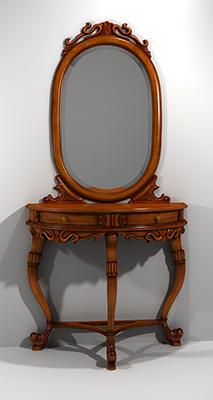 console mirror 3d model