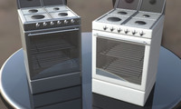 Gas Electric Oven