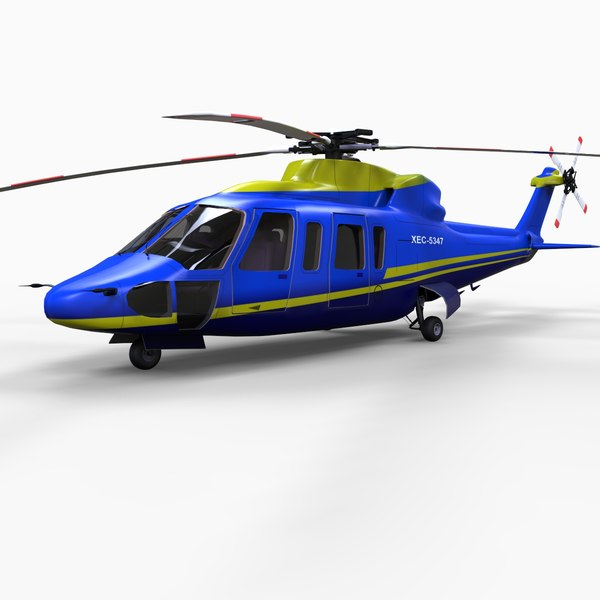 s76 helicopter 3d model