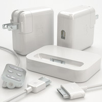 set apple ipod accessories 3d model