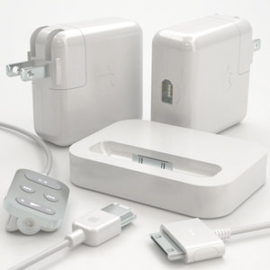 set apple ipod accessories 3d model