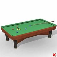max pool table