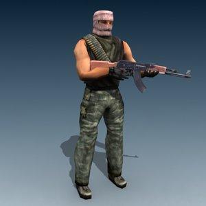 terrorist iraq 3d 3ds