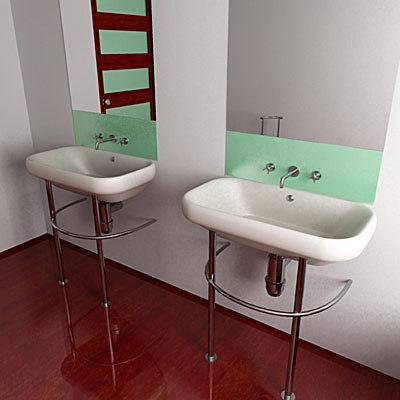 3d model bathroom interior