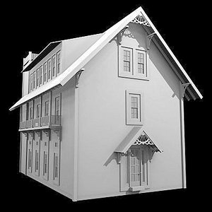 ascott home architectural 3d model