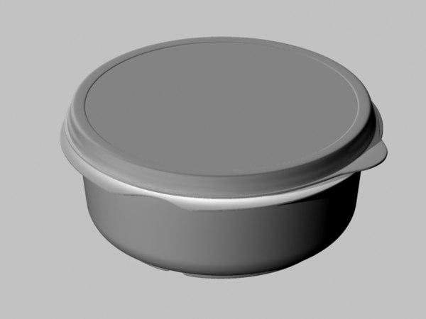 maya tupperware bowl