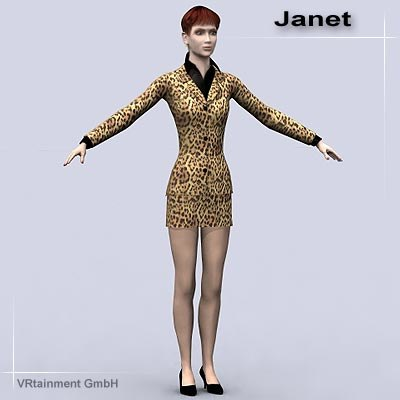 3ds max janet