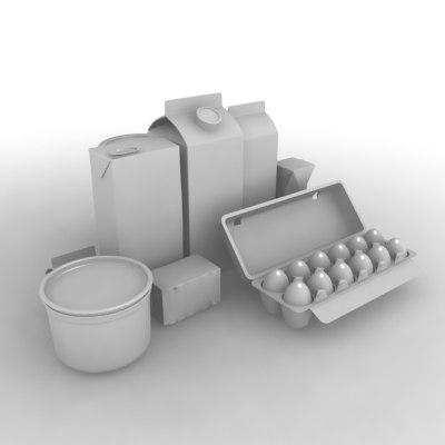 packages fridge 3ds