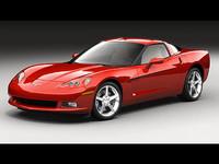 3dsmax new chevrolet corvette c6