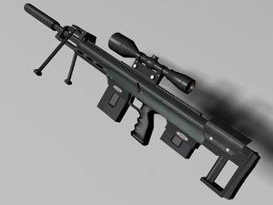 dsr- rifle 3d model