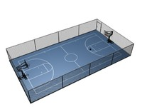 basketball court z-1