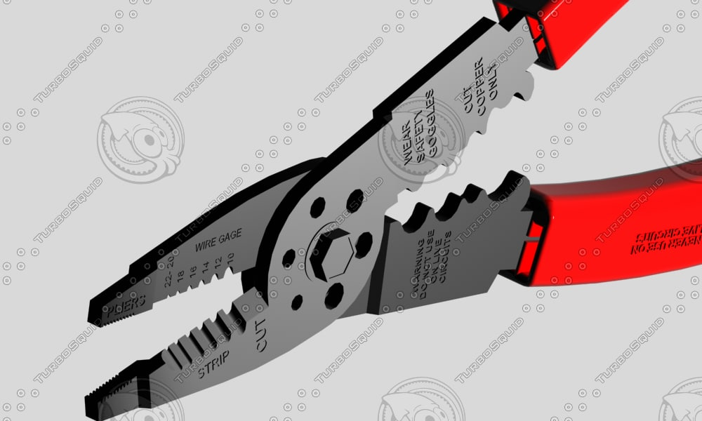 wire stripper 3d model
