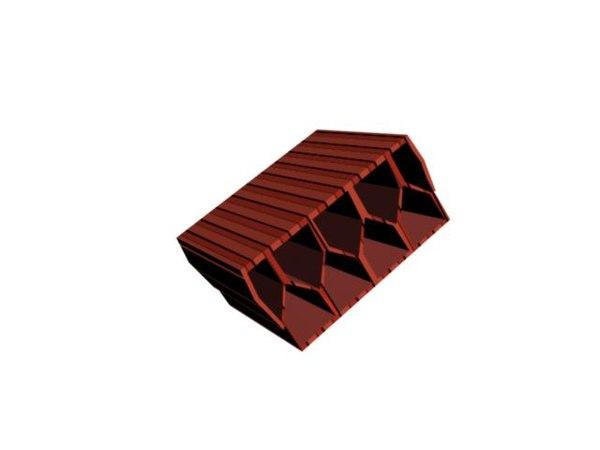 3ds max brick block