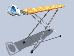3dsmax ironig table