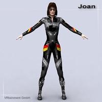 3d model joan