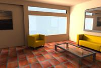 3d model sun room