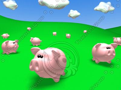 toon pigbank lwo