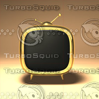 3d cartoon tv model