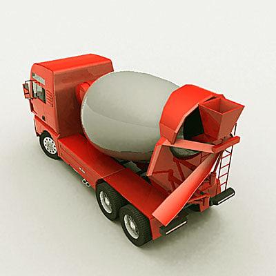 max cement mixer truck