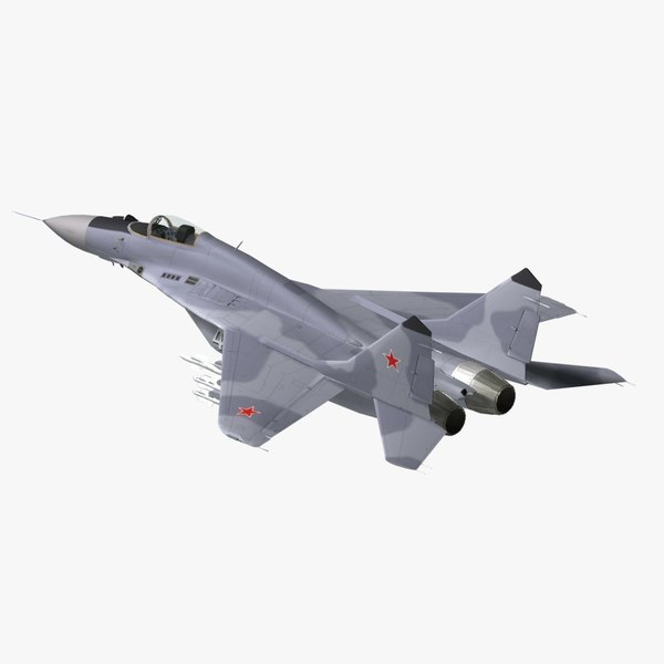russian jet fighter 3d 3ds