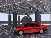 AUTO PHOTOGRAPHY STUDIO [THE SPACE FRAME PARKING GARAGE] 2006