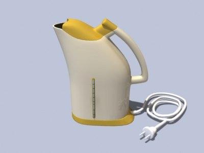 electric jar 3d model