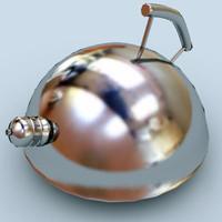 3d model kettle pot