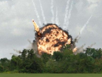 explosion afterburn 3d model