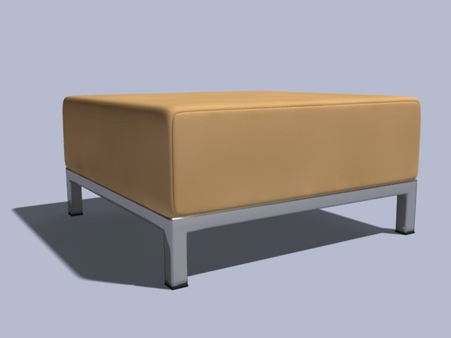 ottoman seat 3ds