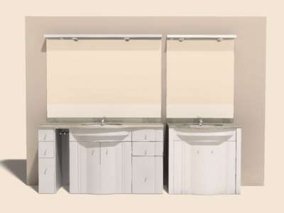 bathroom sink 3ds