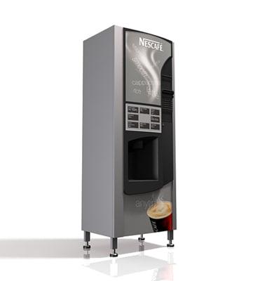 3d coffee vending machine