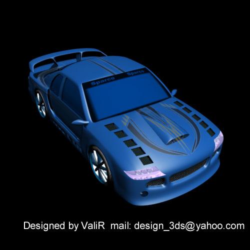 free max model car