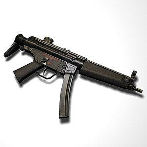 free kalashnikov carbine weapon 3d model