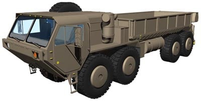 m977 hemtt 3d dxf