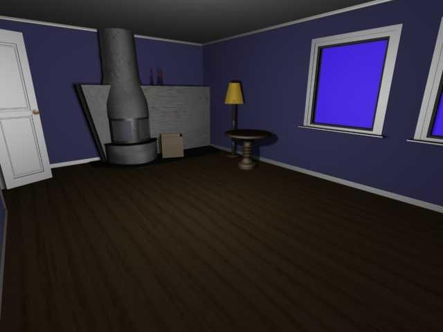 3d livingroom model