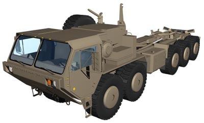 3d model m1075 hemtt load