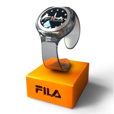 3d fila watch model